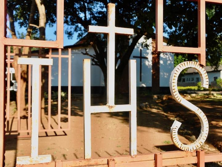 A Christogram in Zambia, 2018.