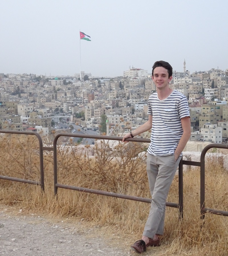 Jonathan Thrall in Amman Jordan, 2016.