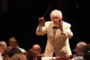 Christoph von Dohnanyi leading the BSO at Tanglewood on Opening Night July 6, 2012;