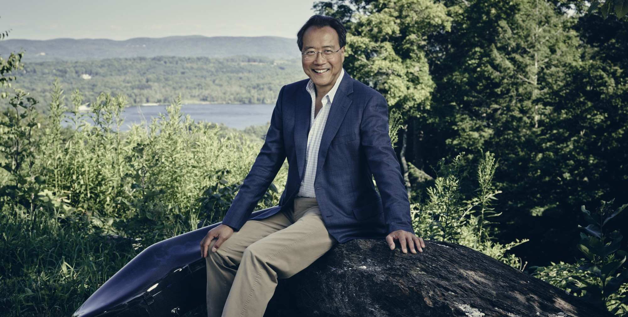 Yo-Yo Ma at Tanglewood August 2019