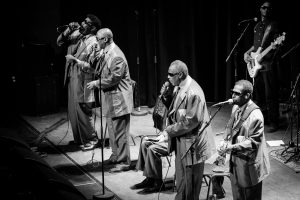 Blind Boys of Alabama in concert February 10, 2002 at The Mahaiwe in the Berkshires.