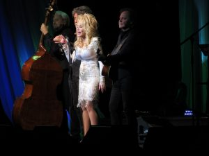 Dolly Parton at Tanglewood, June 17, 2016. Photo: Dave Read, BerkshireLinks.com.