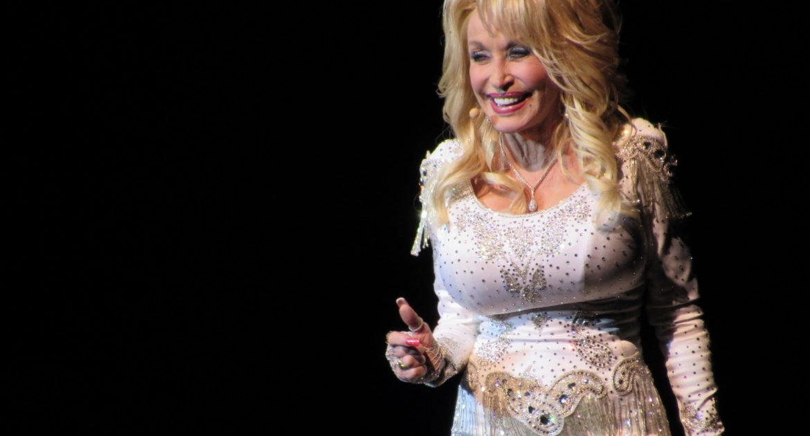 Dolly Parton at Tanglewood June 17, 2016 Pure & Simple tour. Photo; Dave Read, Berkshire Links