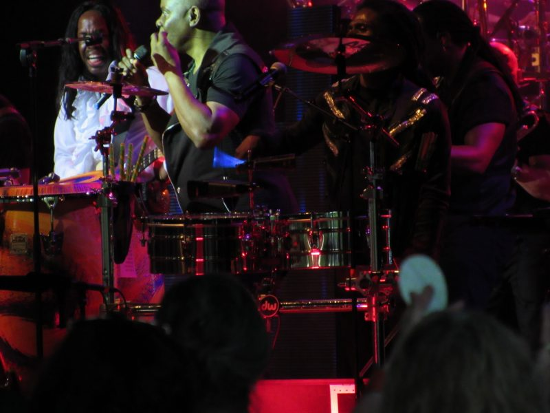 Earth, Wind & Fire at Tanglewood June 18, 2016. Photo: Dave Read, BerkshireLinks.com