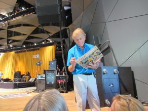 Al Jardine signs autographs at Tanglewood, June 19, 2016. Photo: Dave Read, BerkshireLinks.com.