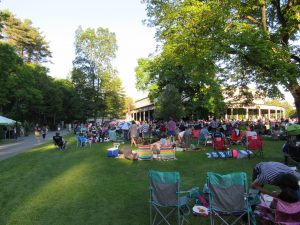 Lawn Scene Tanglewood, June, 2016. Photo: Dave Read, BerkshireLinks.com.