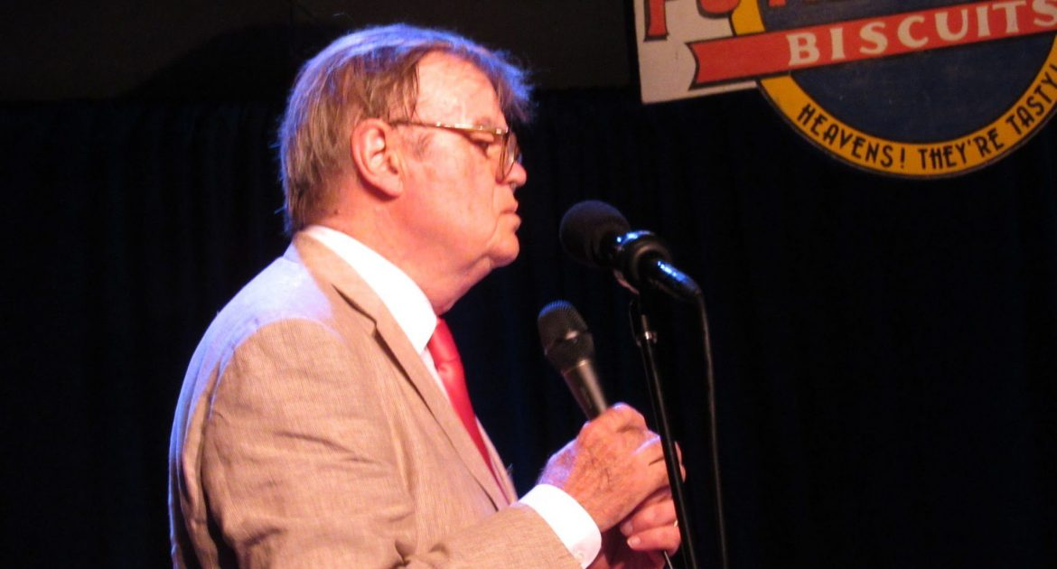 Garrison Keillor's final performance at Tanglewood on A Prairie Home Companion; photo: Dave Read, BerkshireLinks.com.