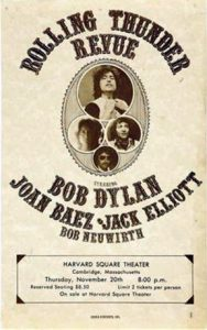 Rolling Thunder Revue poster