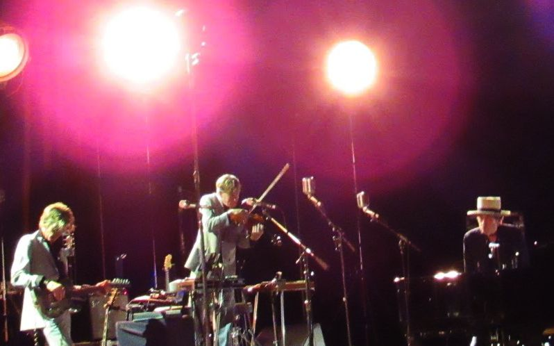 Bob Dylan at Tanglewood July 2, 2016