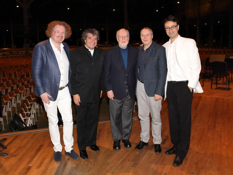 2016 Tanglewood on Parade conductors,Stephane Denave, Giancarlo Guerrero, John Williams, Stefan Asbury, Ken-David Masur