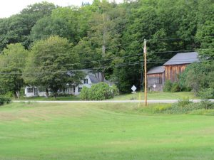 View of Donald Hall's Eagle Pond Farm, Wilmot, NH; June 2015 photo by Dave Conlin Read.