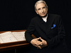 Michael Tilson Thomas on Tanglewood schedule Aug. 12, 2018. photo Art Streiber