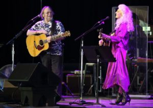 Steven Stills and Judy Collins at Tanglewood June 17, 2018