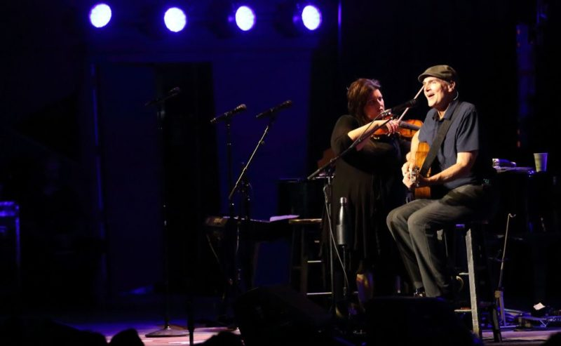 James Taylor at Tanglewood July 4, 2018; Hilary Scott photo.