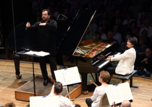 BSO opens 2018 Tanglewood season with Lang Lang; Hilary Scott photo.