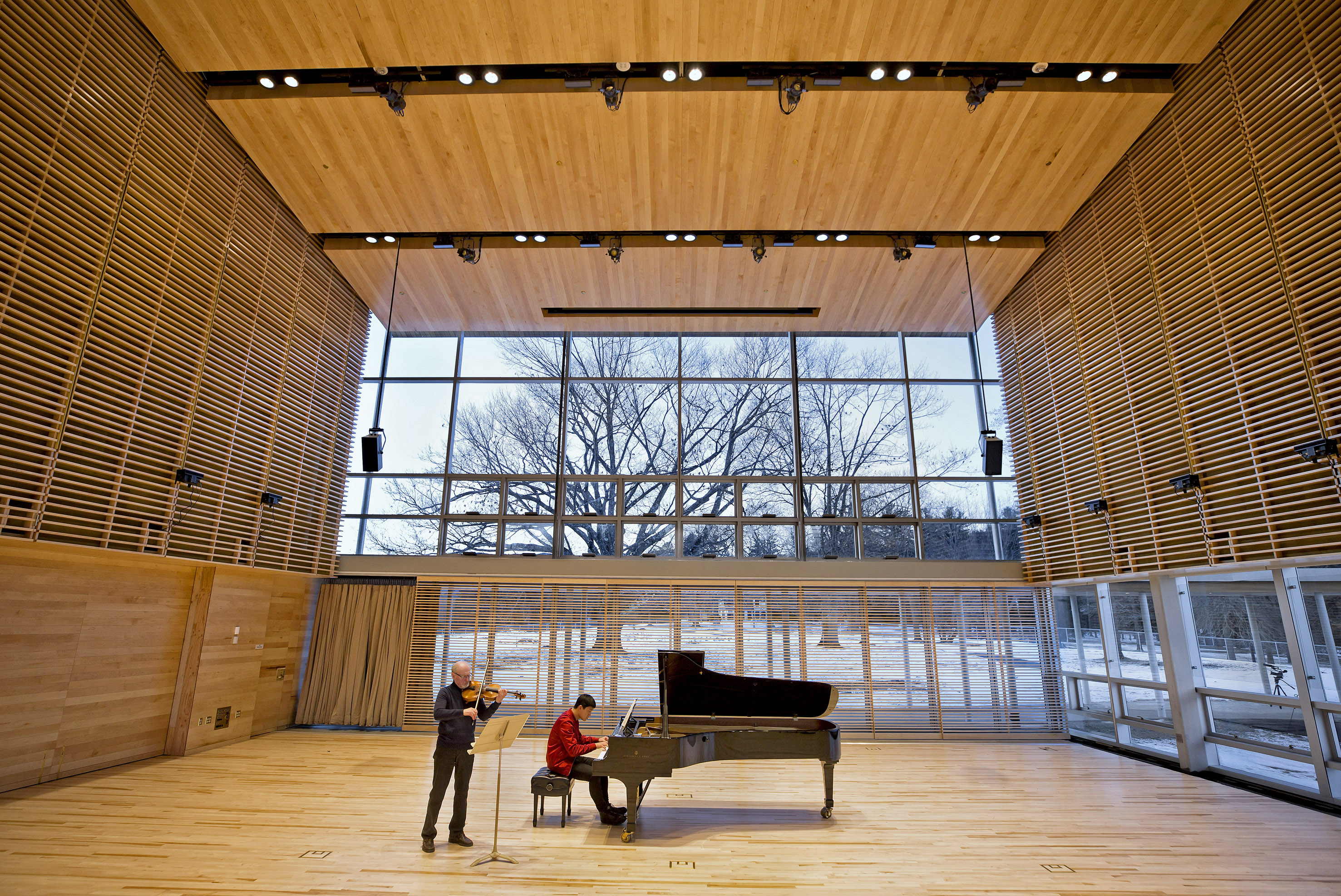 Opening in June 2019 Tanglewood's new Linde Center for Music and Learning, home to the new Tanglewood Learning Institute and its 140 programs. Photo: Winslow Townson.