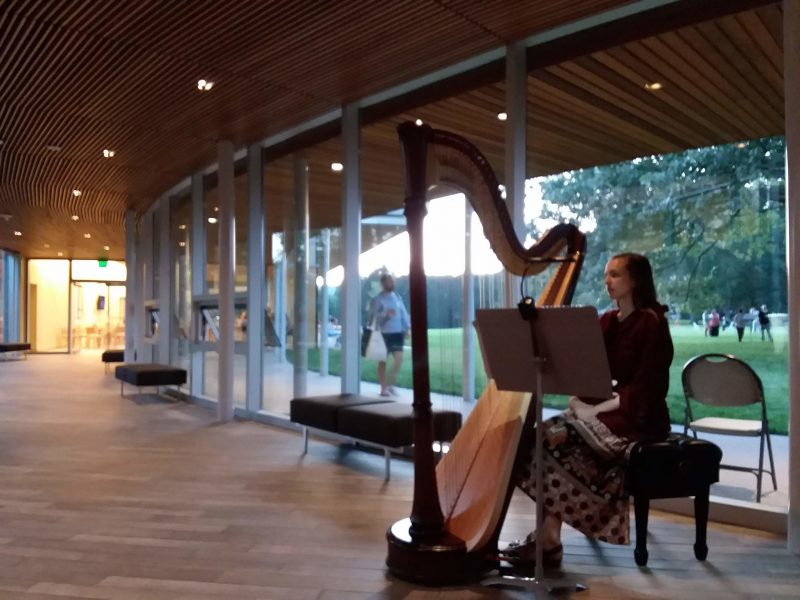 John Cage Songbooks performed at Tanglewood, Aug. 4, 2019; Dave Read photo.