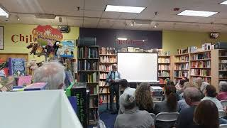Dave Conlin Read reads at Porter Square Books, Cambridge, in relation to Except for Love: New England Poets inspired by Donald Hall.