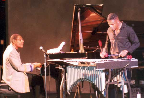 Donal Fox and Steffon Harris Tanglewood Jazz Festival