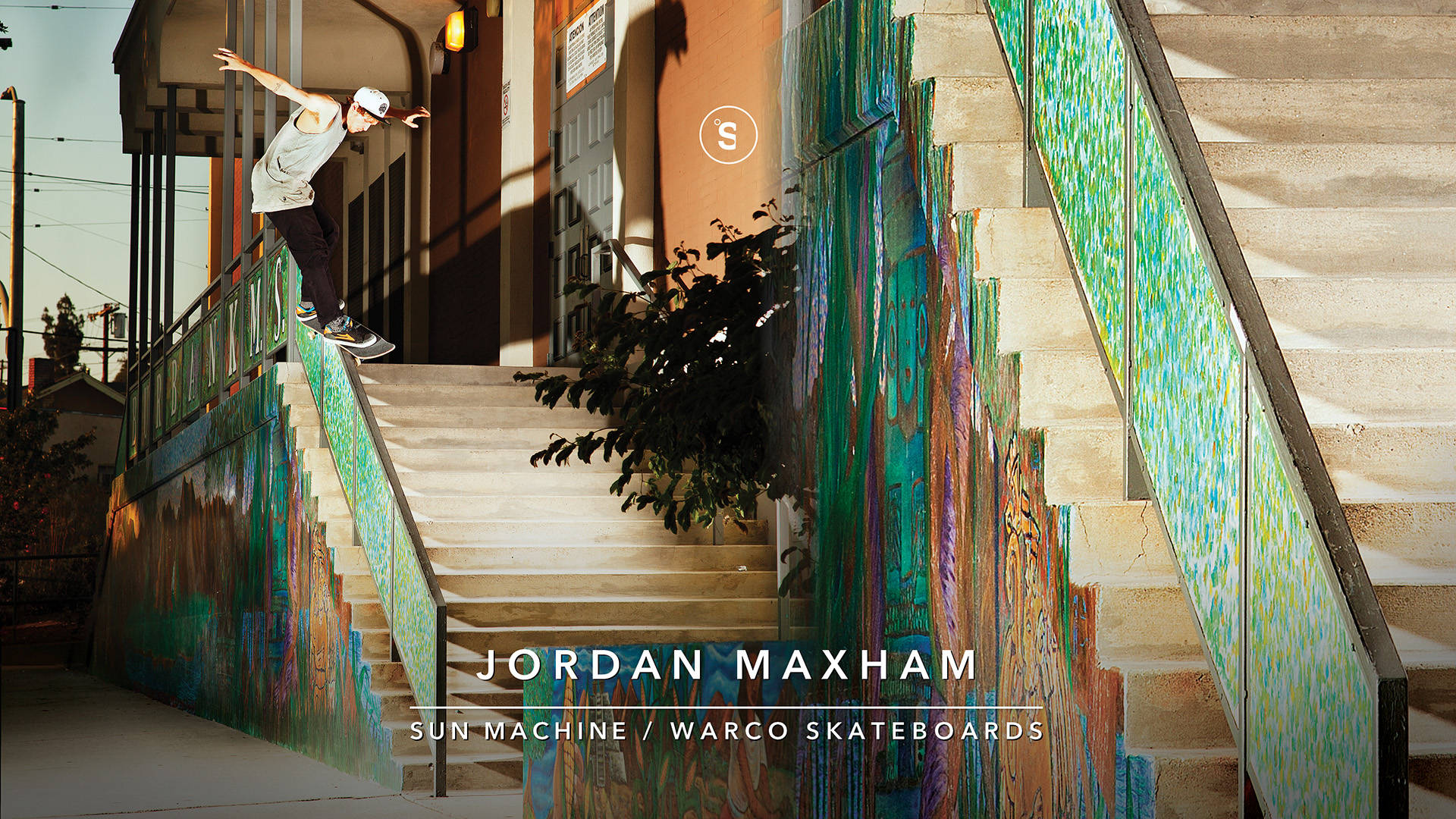 JORDAN MAXHAM - SUN MACHINE -- Warco Skateboards