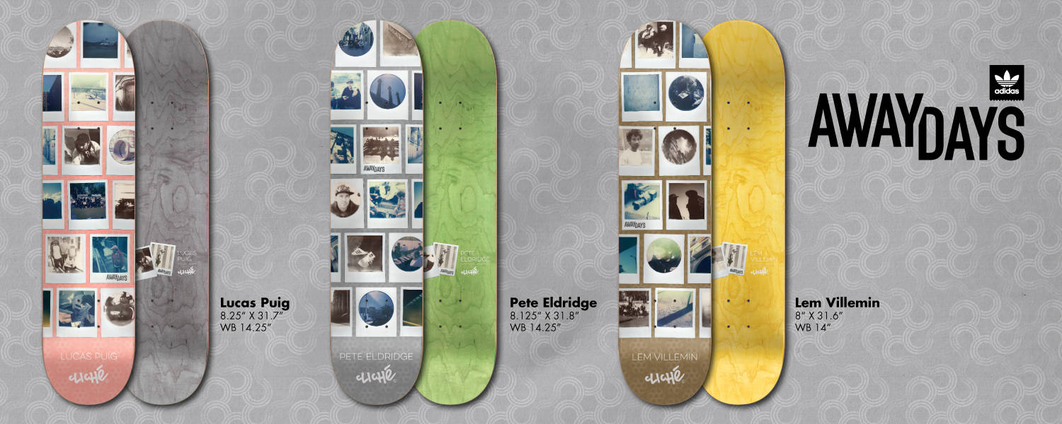 Away Days X Cliché  Decks -- Now Available In The Canteen