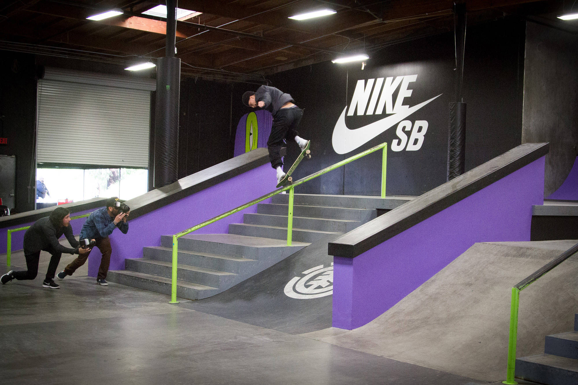 Nyjah Huston -- Shoe Release Party
