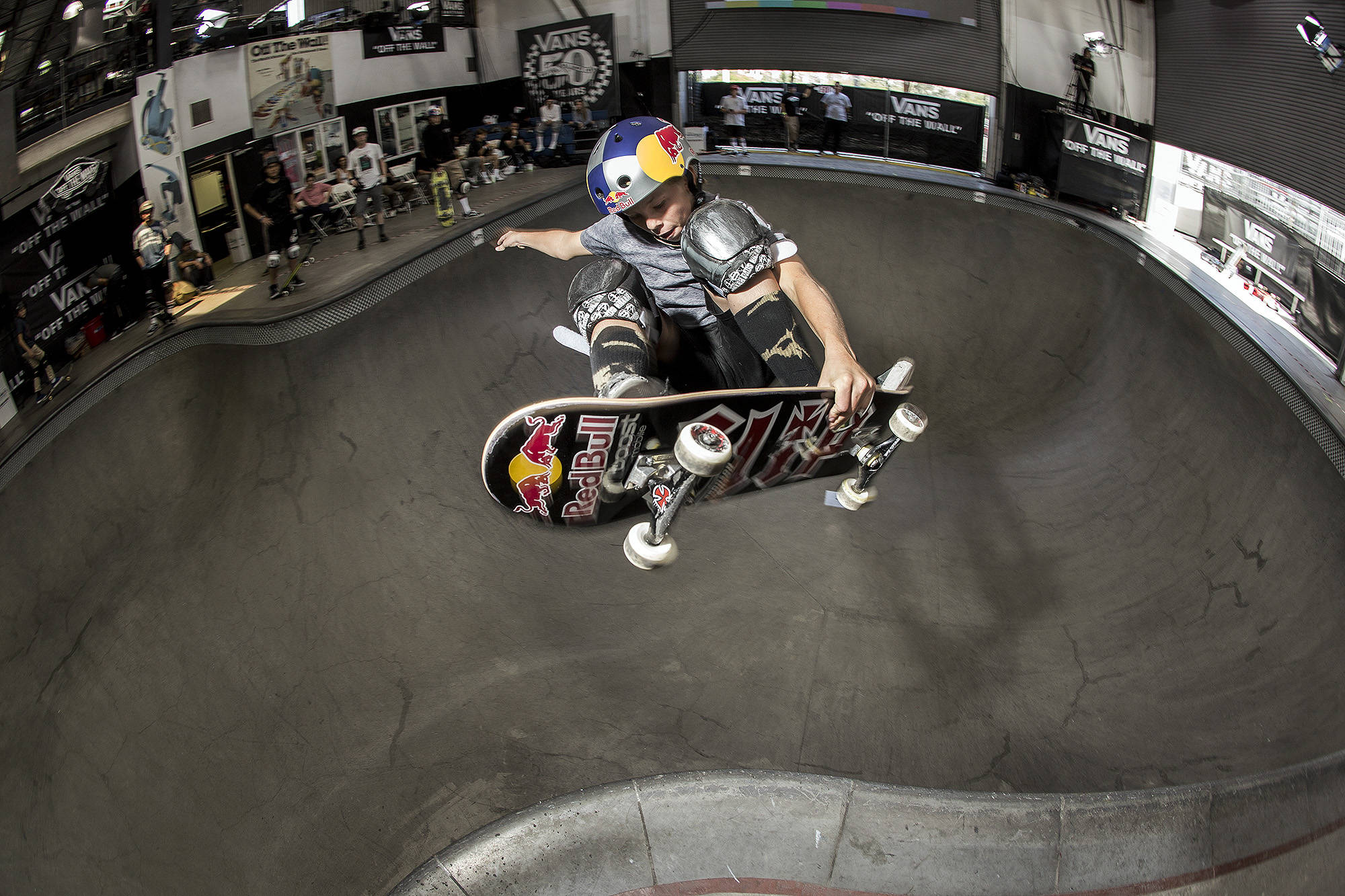 Keegan Palmer, alley-oop frontside air.