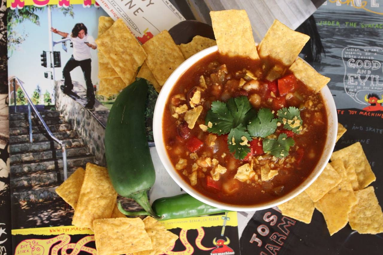 JOSH HOMINY TORTILLA SOUP -- Salad Grinds and Bean Plants #21