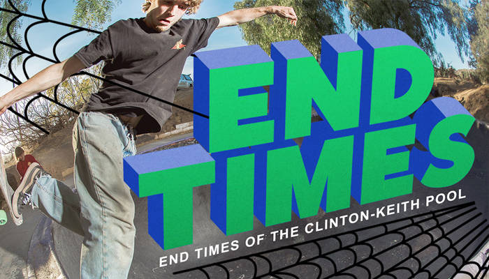 END TIMES OF THE CLINTON-KEITH POOL -- By Dave Swift