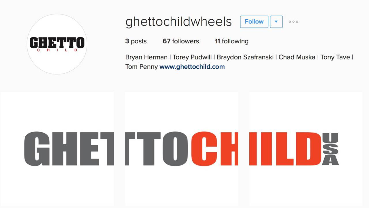 Ghetto Child Wheels -- Is Back!