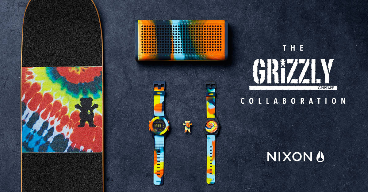 NIXON X GRIZZLY COLLAB