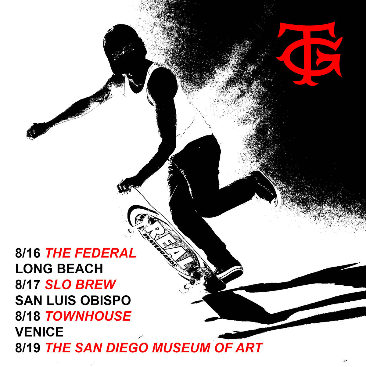 Tommy Guerrero Does So Cal -- Summer Tour Dates