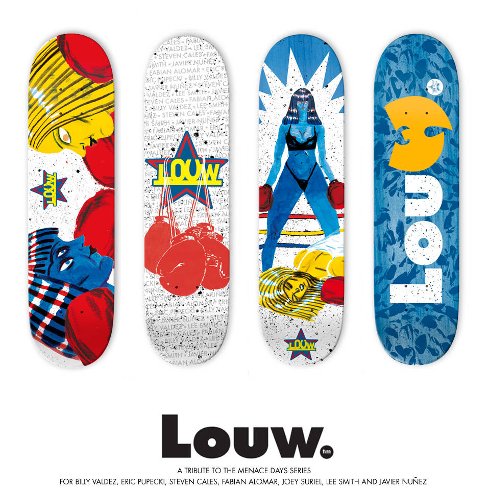 Tribute To Menace Days Series -- Louw. Skateboards