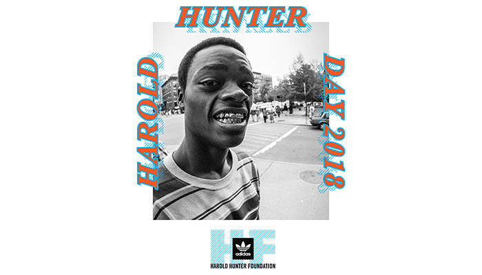 ADIDAS PARTNERS WITH THE HAROLD HUNTER FOUNDATION FOR 2018 CELEBRATION