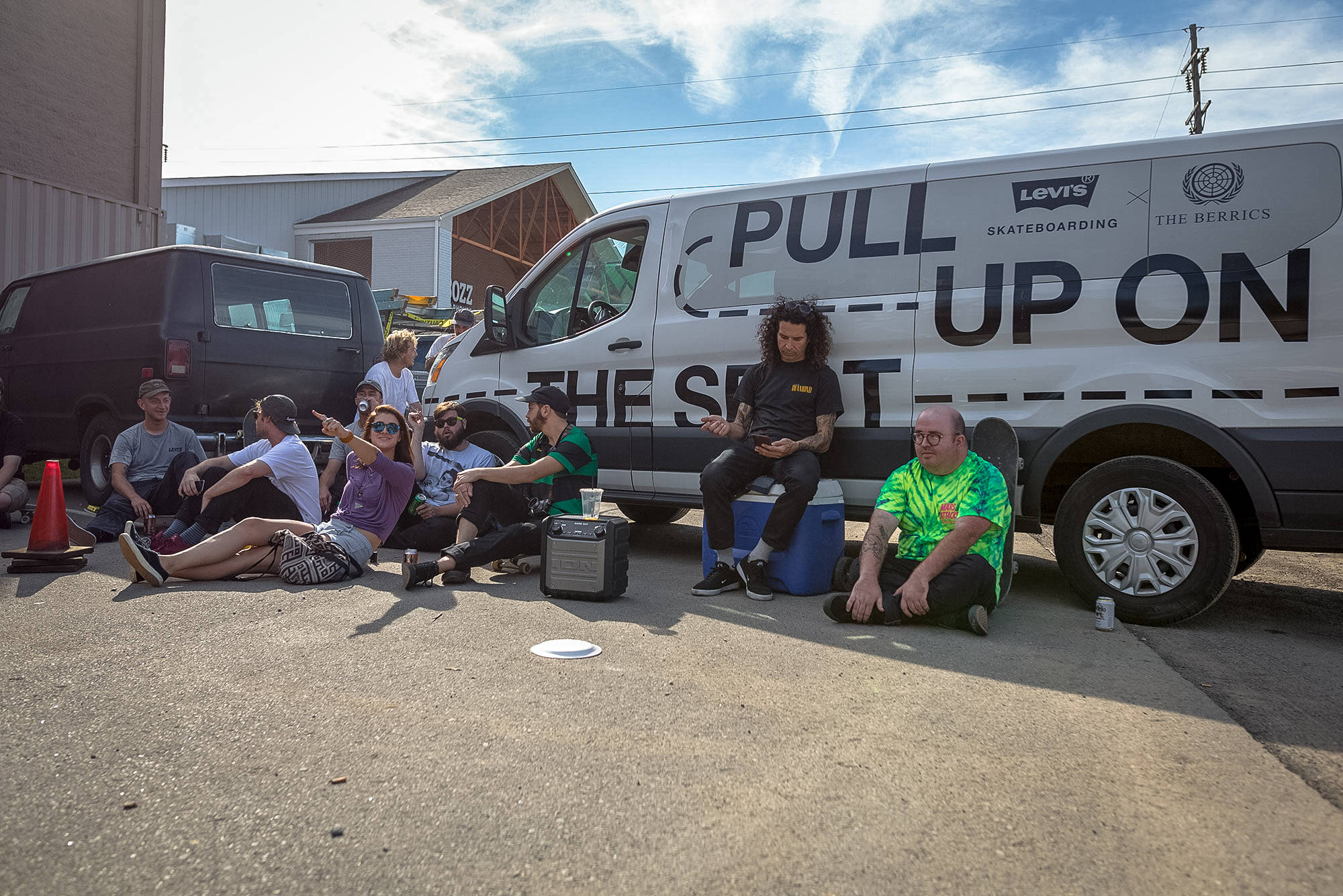 LEVI'S 'PULL UP ON THE SPOT' TOUR STOP 6: HUNT SUPPLY