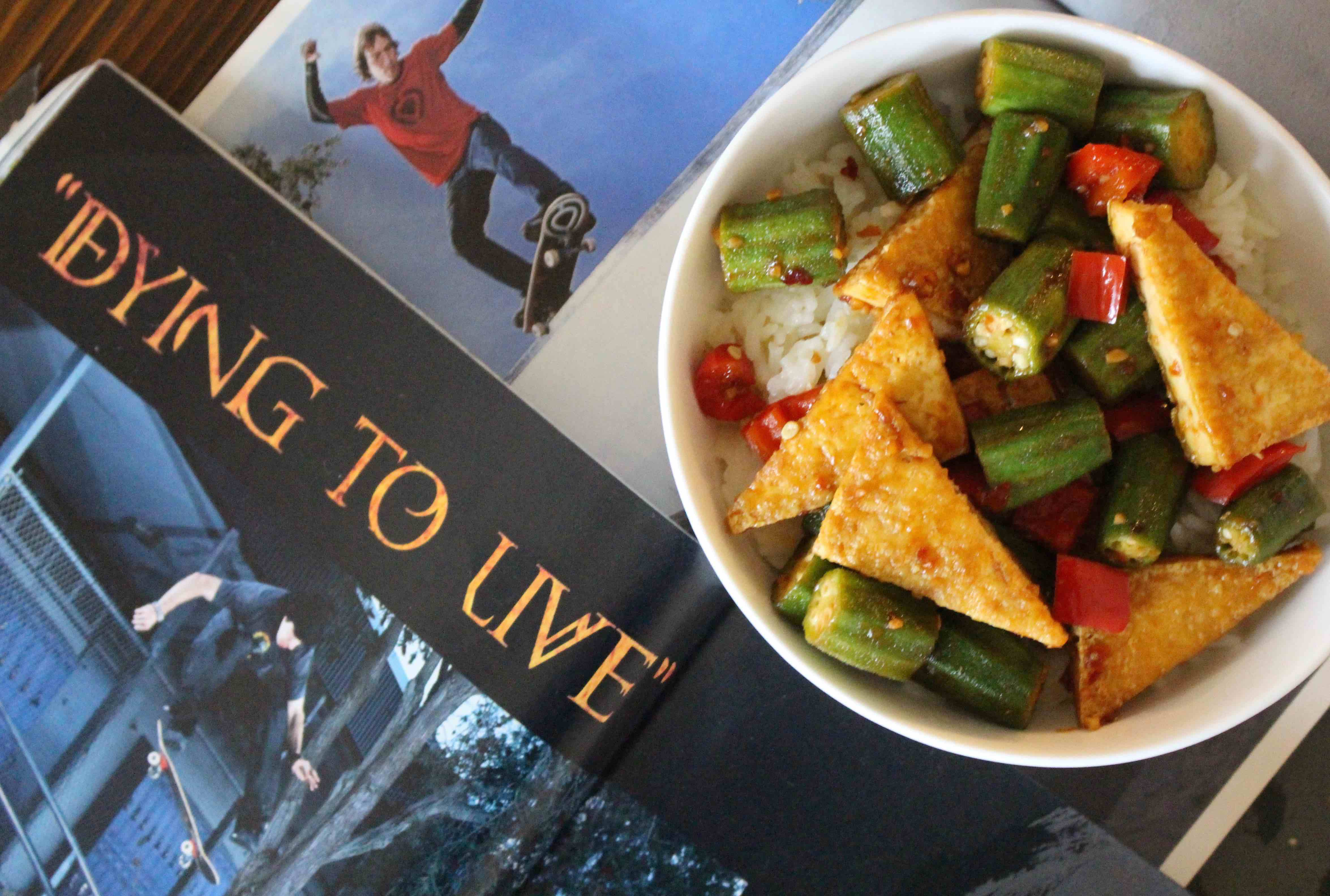 STIR-FRYING TO LIVE -- Salad Grinds and Bean Plants #24