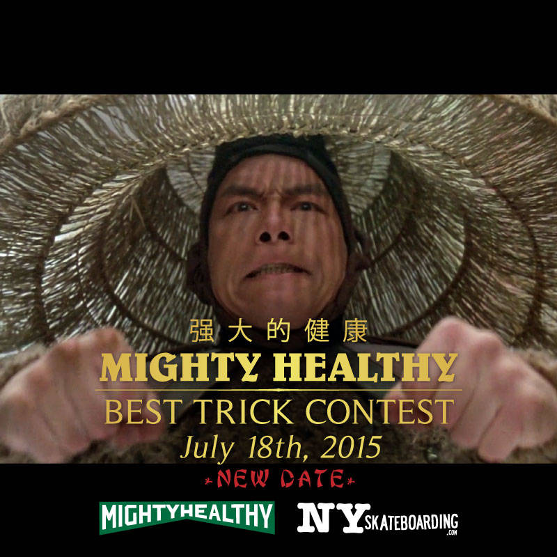 Mighty Healthy Best Trick Contest LES NYC