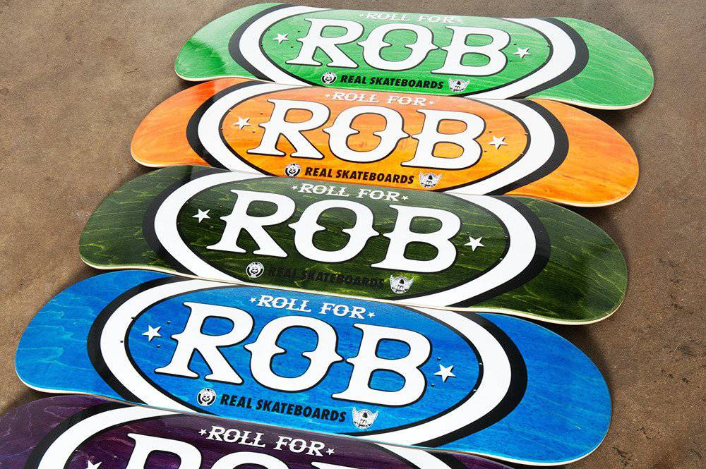 Roll For Rob Benefit #3 -- Real Skateboards & Actions Realized