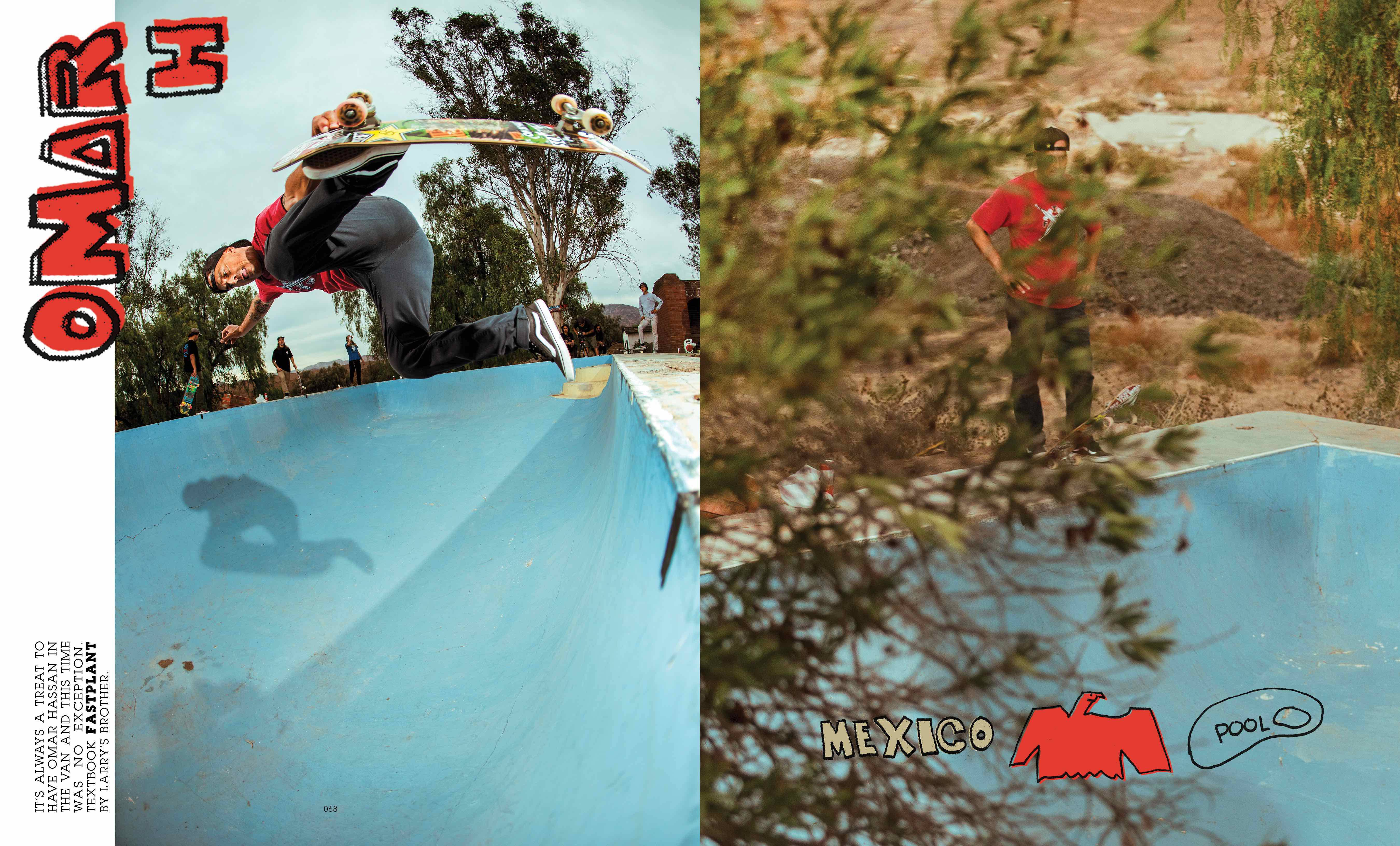 TECATE ON A WHIM -- Berrics Magazine Issue 2