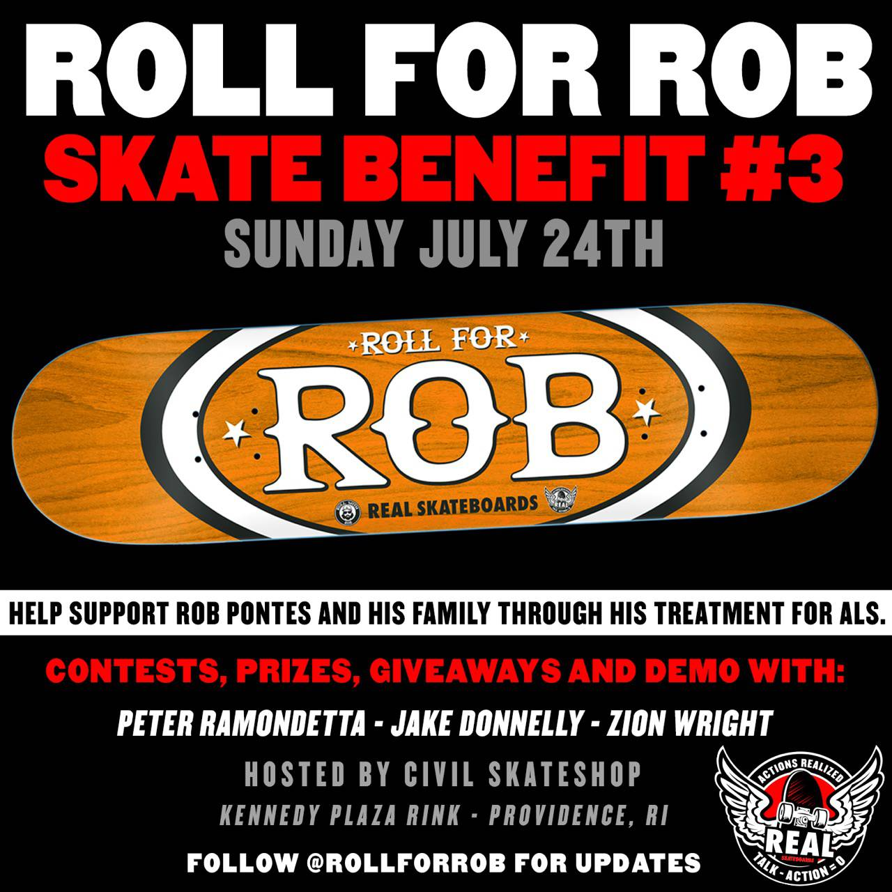 Roll For Rob -- Skate Benefit #3