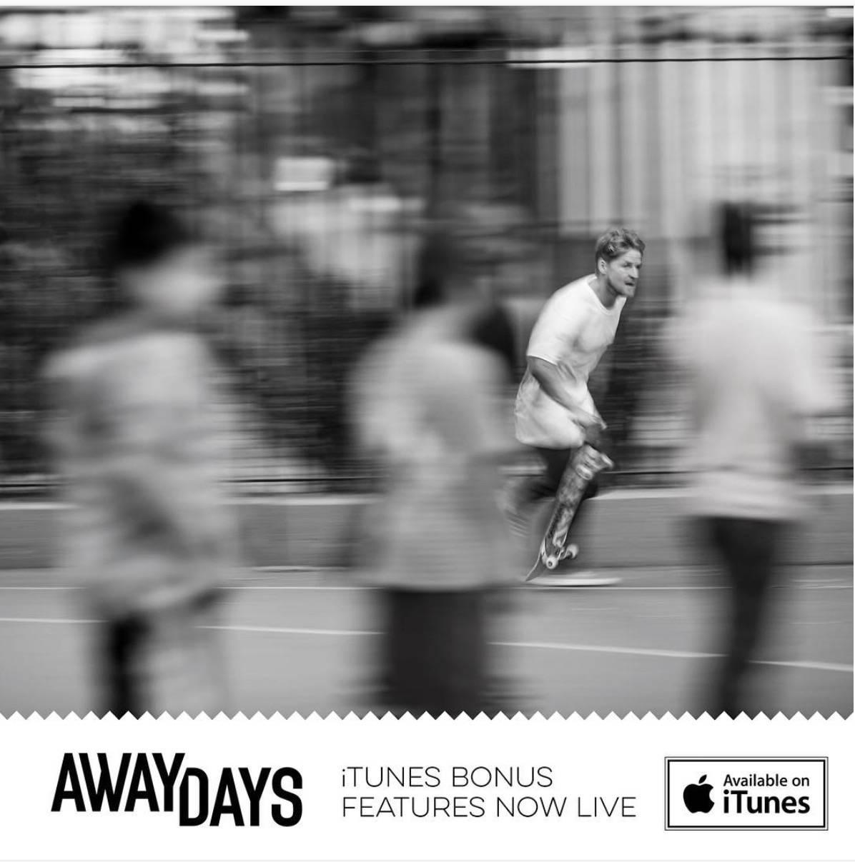 adidas Away Days Releases  -- 36 Minutes Of Bonus Features