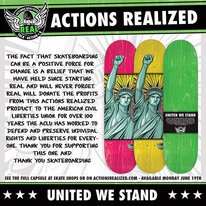 REAL UNITED WE STAND -- Capsule Out Now
