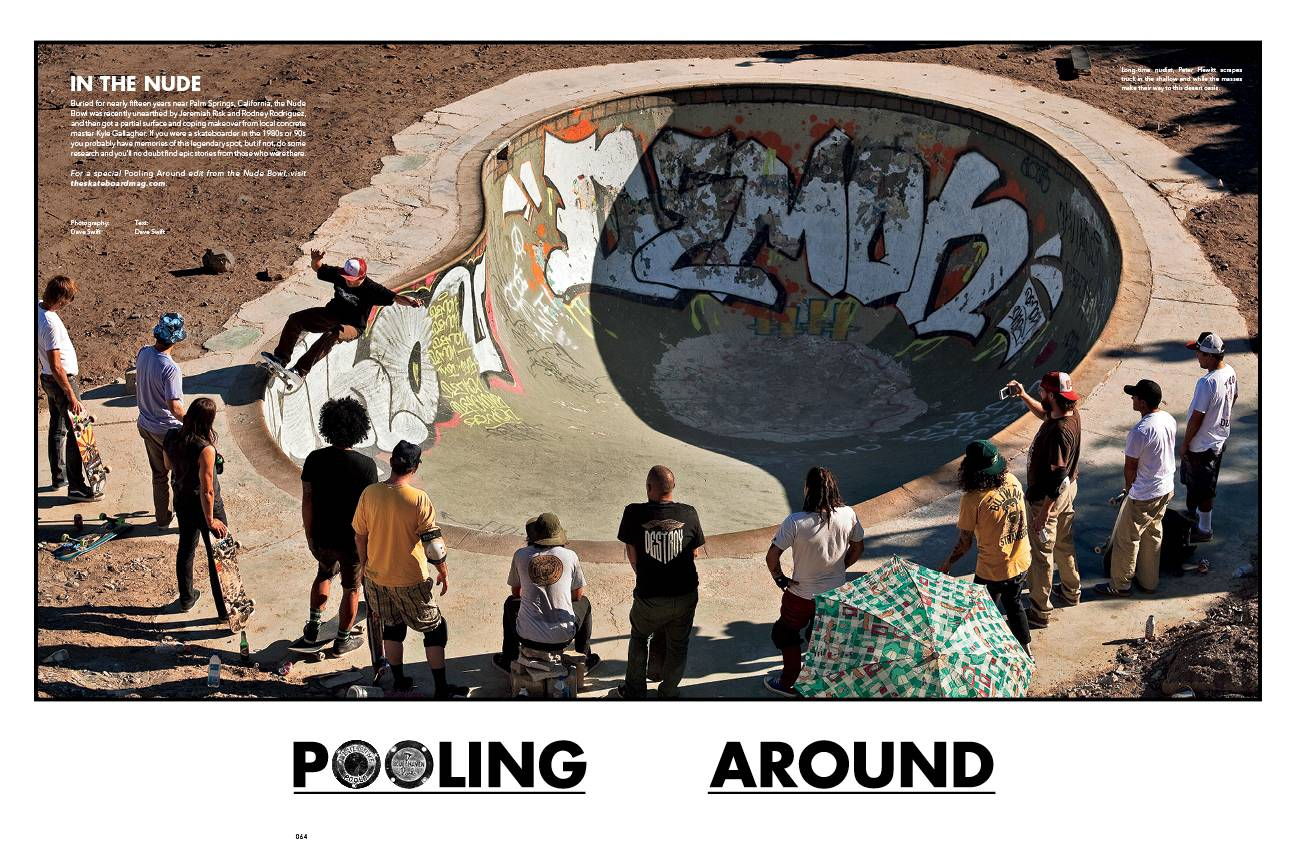THE SKATEBOARD MAG ISSUE #135 OUT NOW!