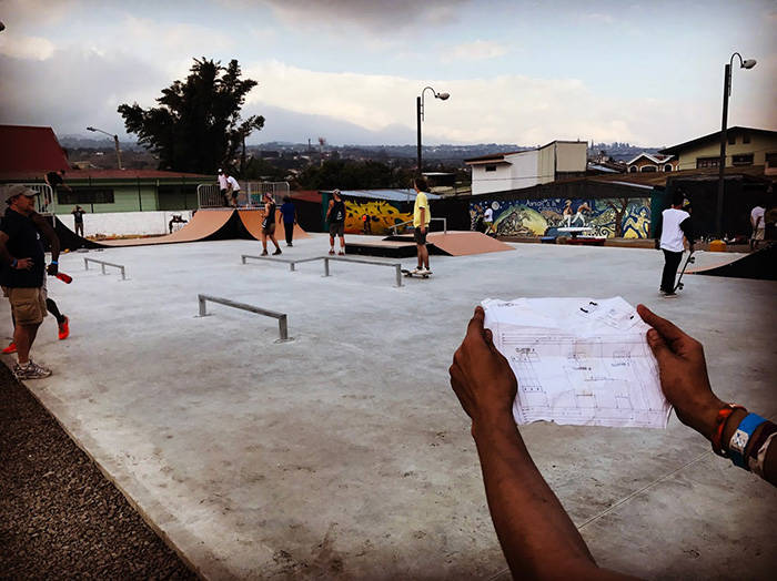 GIVING BACK IN COSTA RICA -- Red Bull Builds a Skatepark