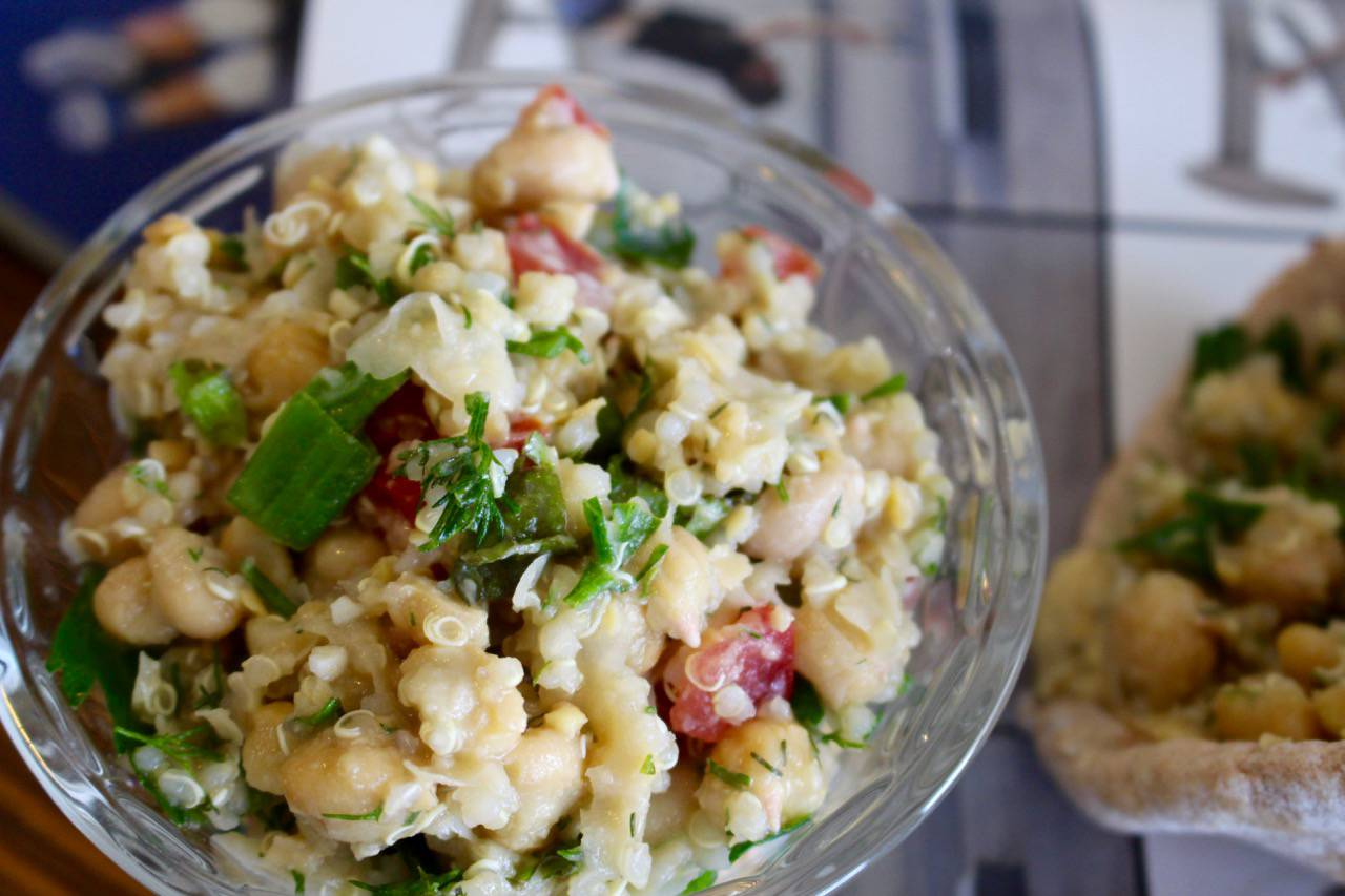 impossible tabbouleh wraparounds - Salad Grinds