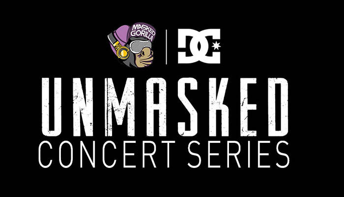 DC AND THE MASKED GORILLA LAUNCH UNMASKED CONCERT SERIES