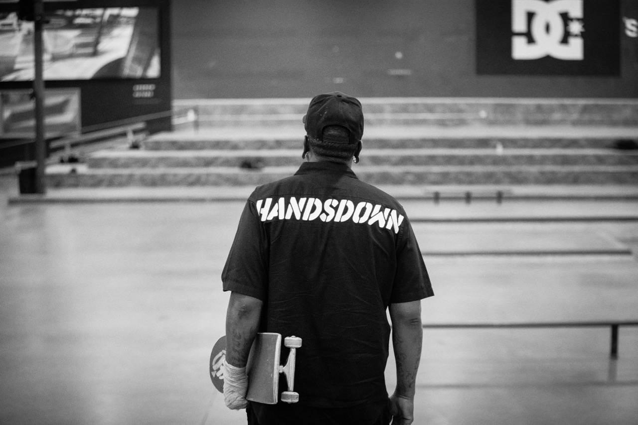 Joseph Scott – HANDSDOWN  -- Touched Down At The Berrics Yesterday