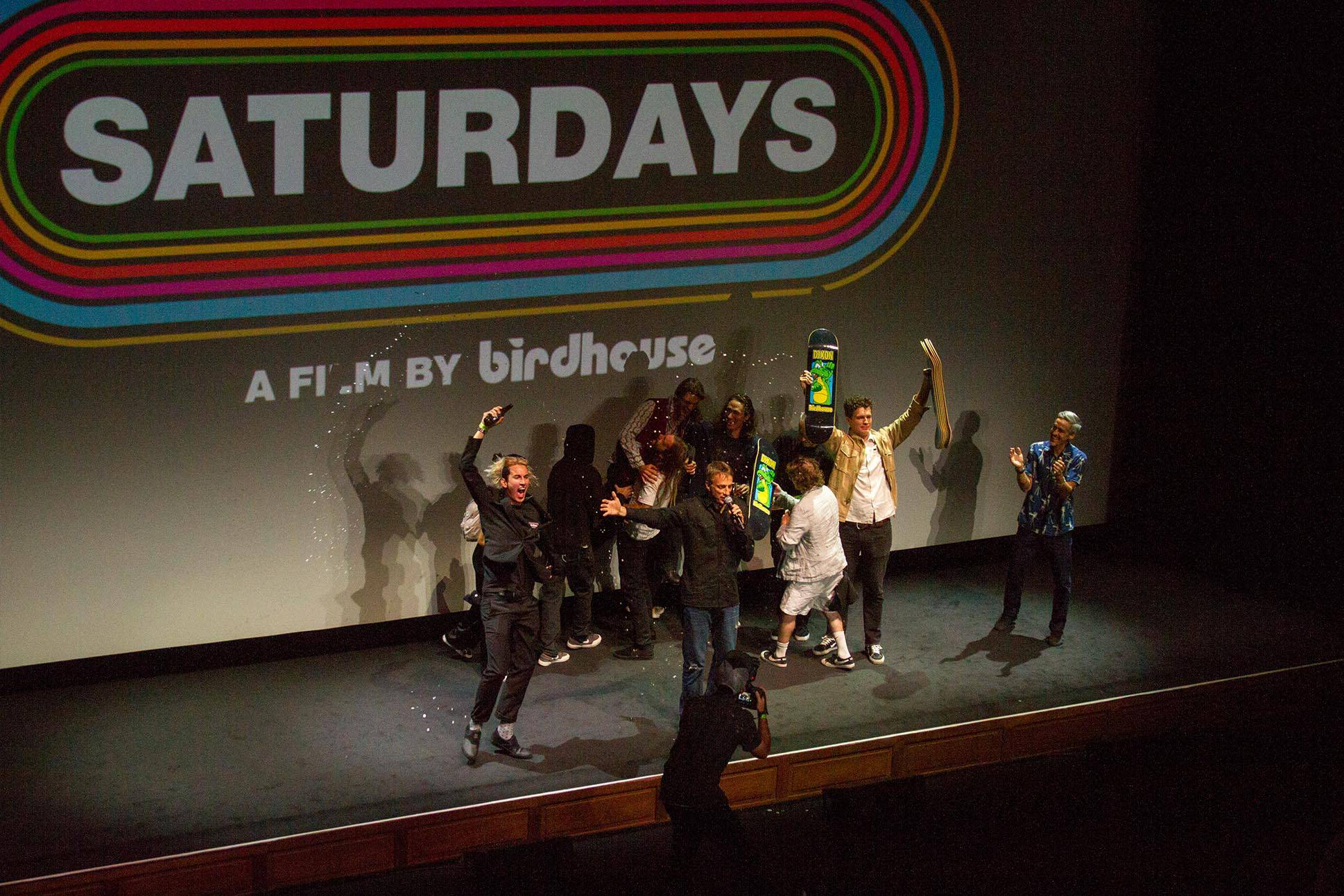 Birdhouse Saturdays -- Premiere Photos