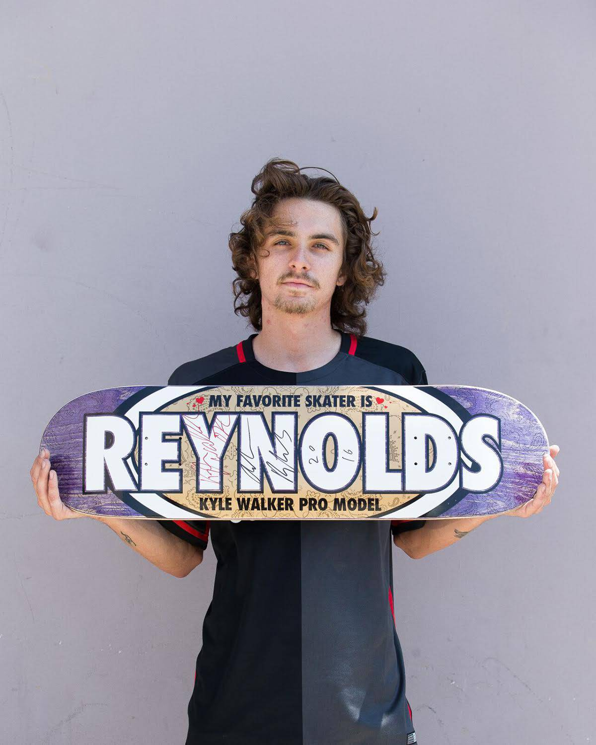 Kyle Walker's -- Favorite Skater Is Andrew Reynolds