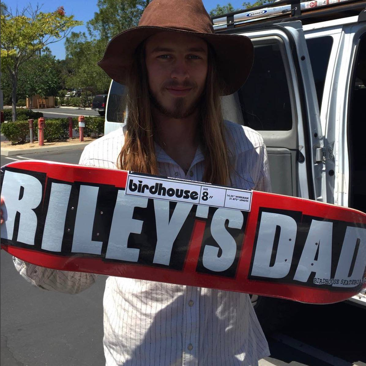 A Tribute From Father To Son -- Riley's Dad Board From Birdhouse